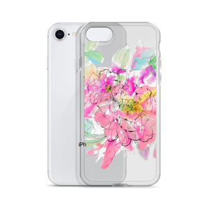 Watercolor Peony iPhone Case