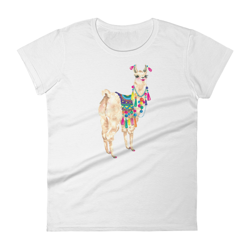 Bollyllama Women's Short Sleeve T-Shirt