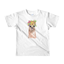 Fruityllama Short Sleeve Kids T-Shirt