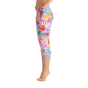 Candy Frenzy Capri Leggings