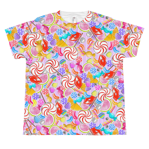 Candy Frenzy Youth Sublimation T-Shirt