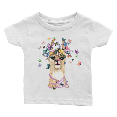 Flutterllama Infant Tee