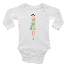 Fashion Llama Infant Long Sleeve Bodysuit