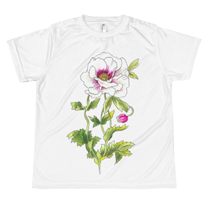 White Anemone Youth Sublimation T-Shirt