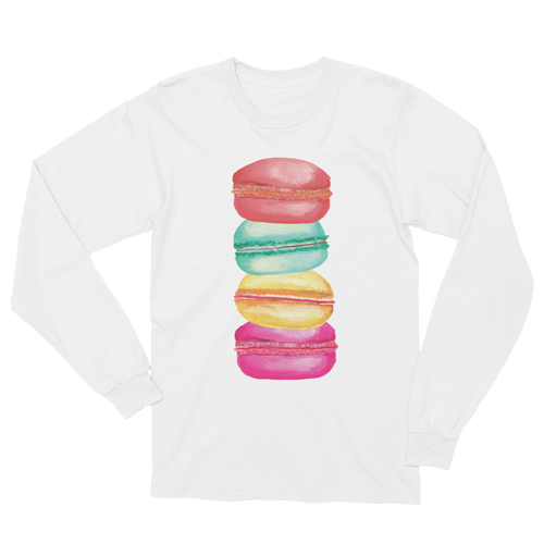 Macarons Long Sleeve T-Shirt Unisex