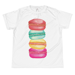 Macarons Youth Sublimation T-Shirt