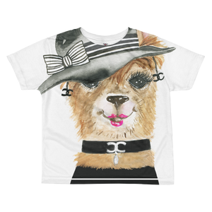 Luxuryllama Kids Sublimation T-Shirt
