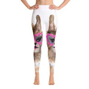 Sassy Grandllama Yoga Leggings