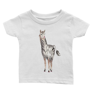 Zebrallama Infant Tee
