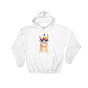 Llamacorn Hooded Sweatshirt
