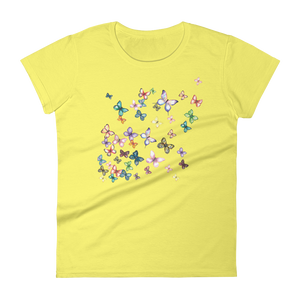 Butterfly Swarm Women's Short Sleeve T-Shirt