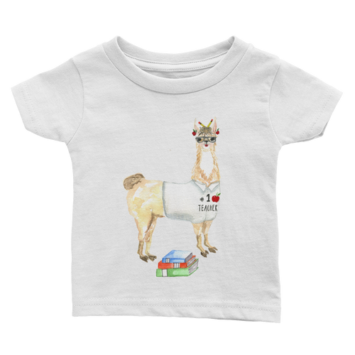 Teacher Llama Infant Tee