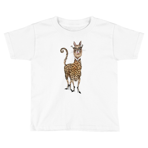 Meowllama Kids Short Sleeve T-Shirt