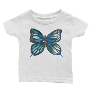Blue Butterfly Infant Tee