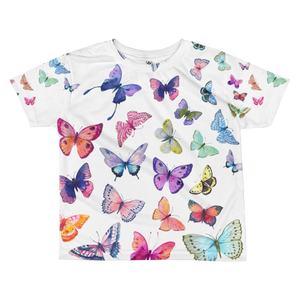 Butterfly Swarm All-Over Kids Sublimation T-Shirt