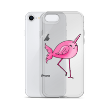 Narwhal Flamingo iPhone Case