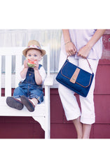 Cottage Clutch in Nantucket Navy