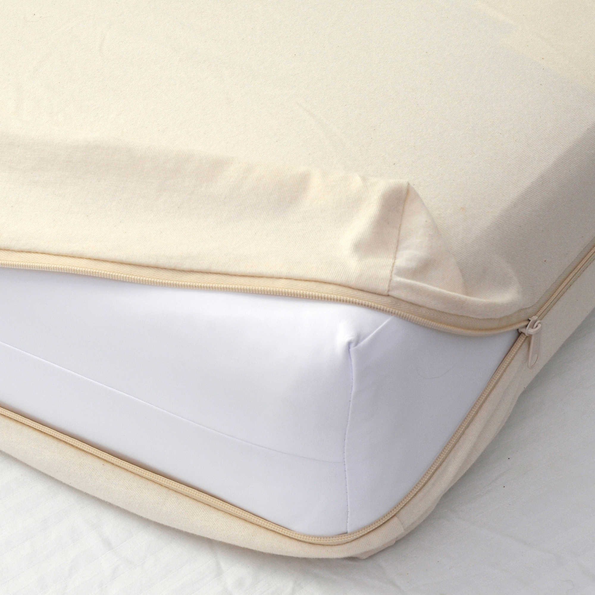Organic Cotton Cradle Mattress Coverlet