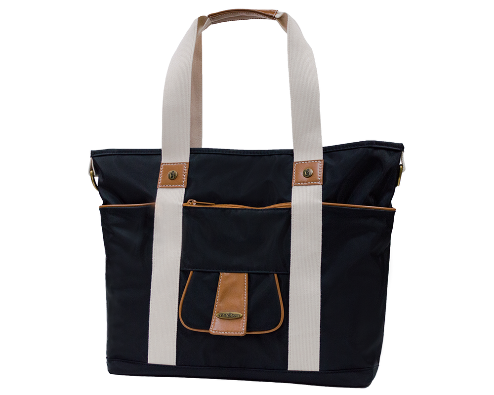 Harbor Side Tote in Little Black Dress front view