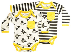 Puppy Bodysuit 2PK