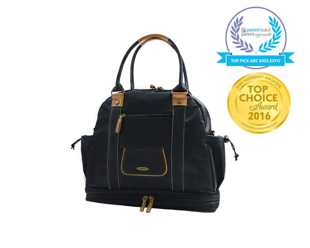 Sail Away Satchel in Midnight Voyage top view