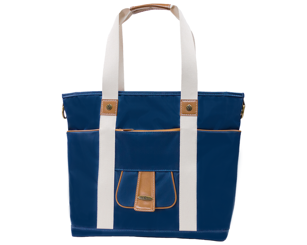 Harbor Side Tote in Nantucket Navy