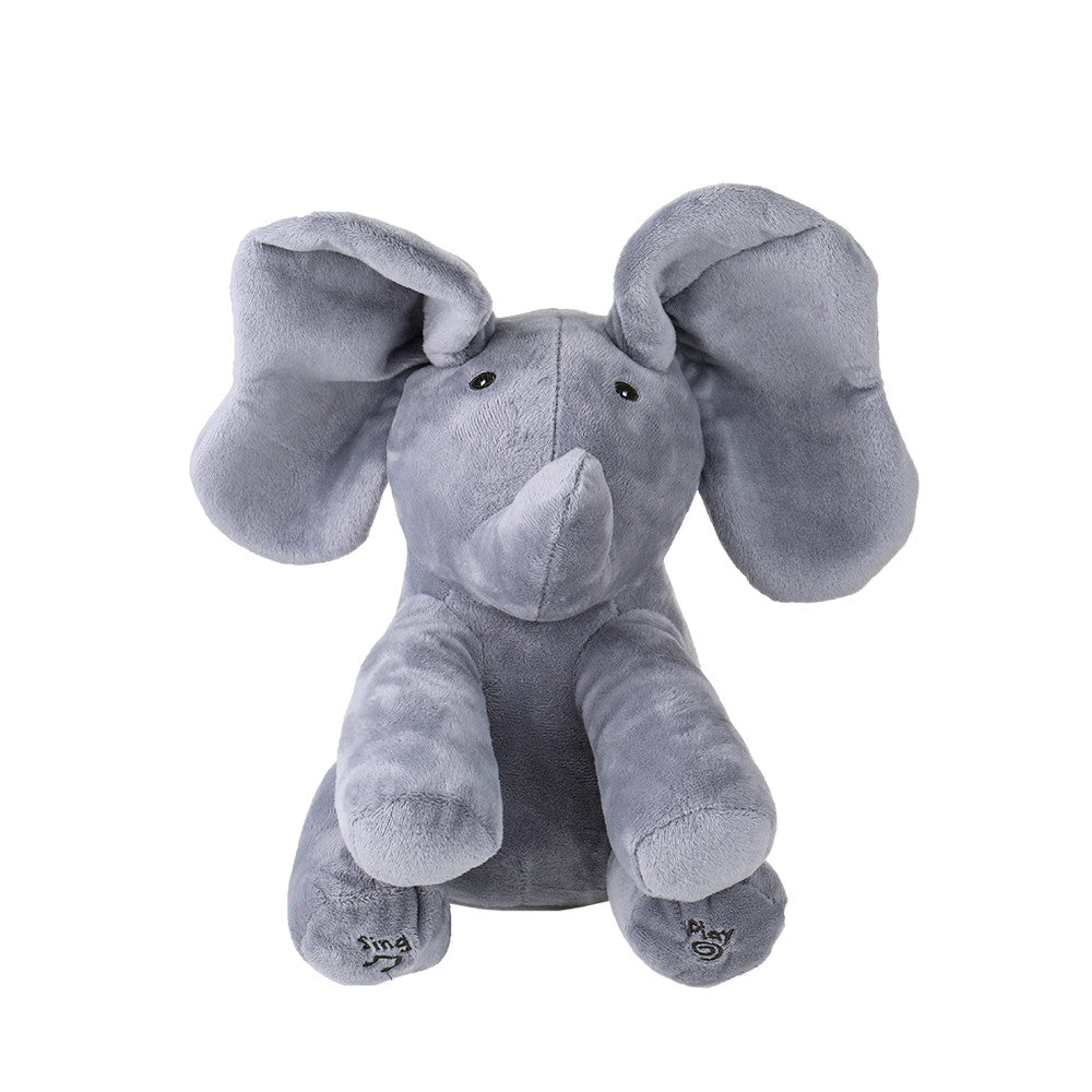 Plush Animated Elephant