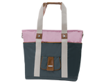 Harbor Side Tote in Pink Elephant front view