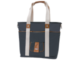 front view Harbor Side Tote in Hampton Grey