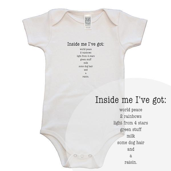 Inside Me I've Got Baby Romper