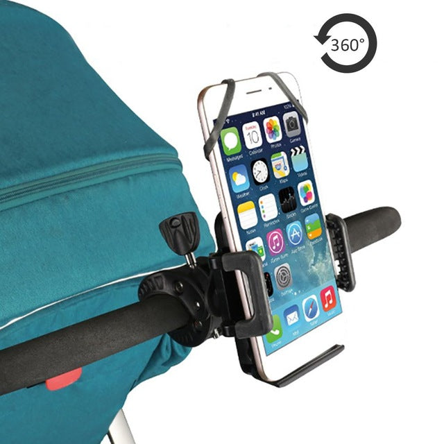 Stroller Mobile Phone Holder 360 Degree Adjustable