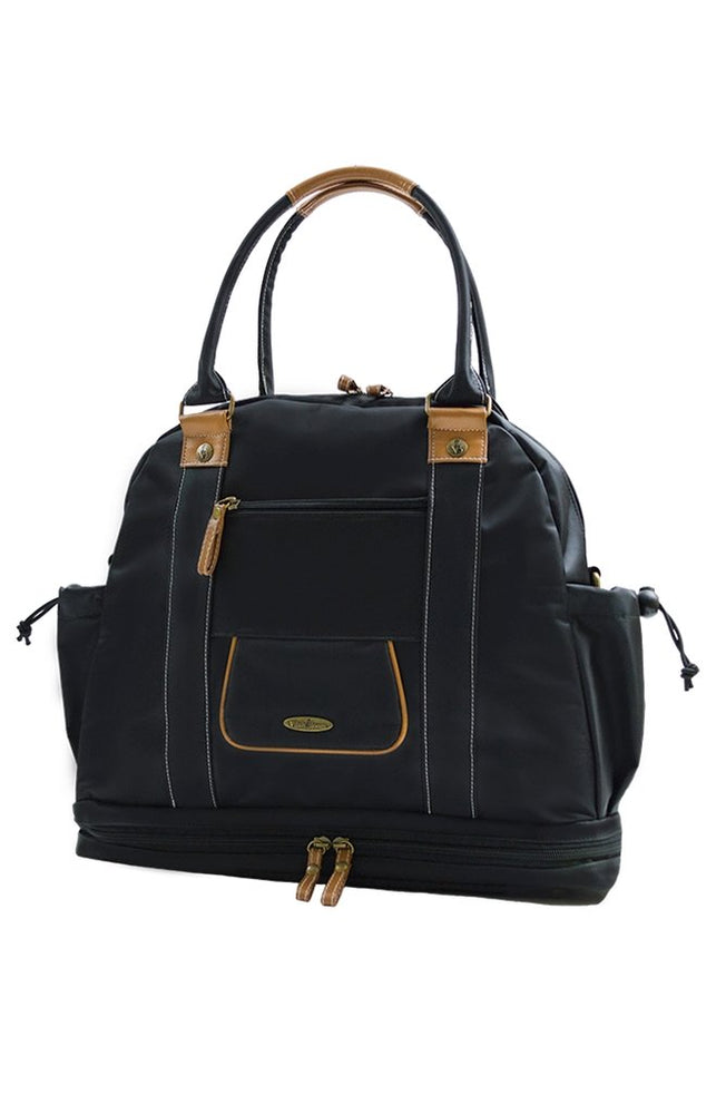 Sail Away Satchel in Midnight Voyage front view