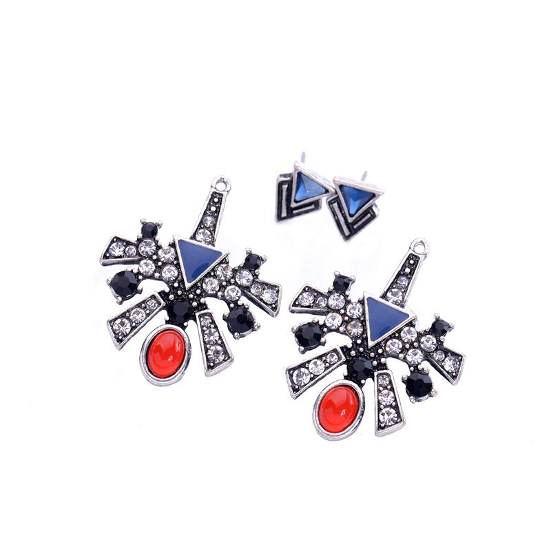 20s Geometric Earring Jackets earrings Vinty Jewelry