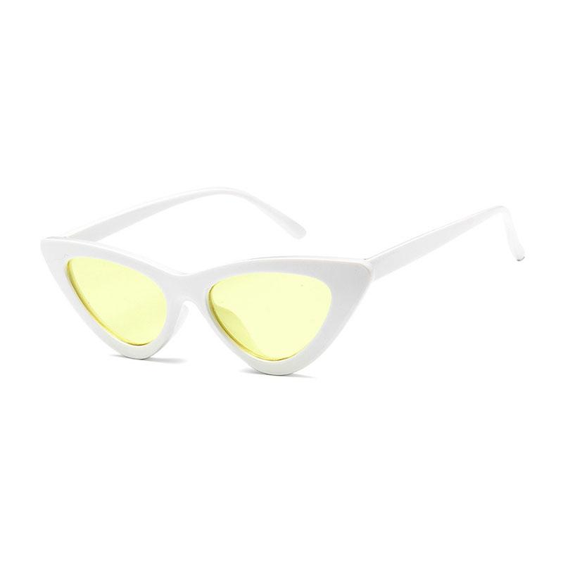 AMY Cat-Eye Sunglasses in Colored Lens sunglasses Vinty Jewelry