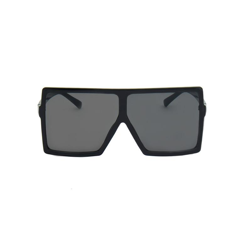 Bulky Square Sunglasses sunglasses Vinty Jewelry Black