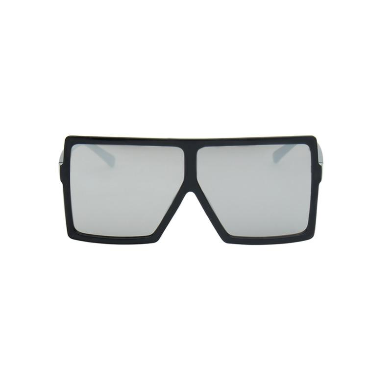 Bulky Square Sunglasses sunglasses Vinty Jewelry Gray