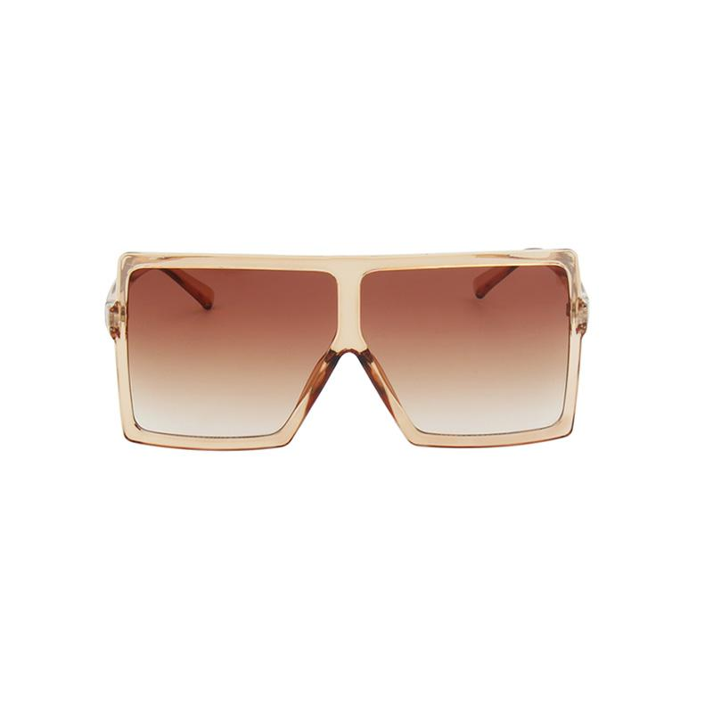 Bulky Square Sunglasses sunglasses Vinty Jewelry Lightsalmon