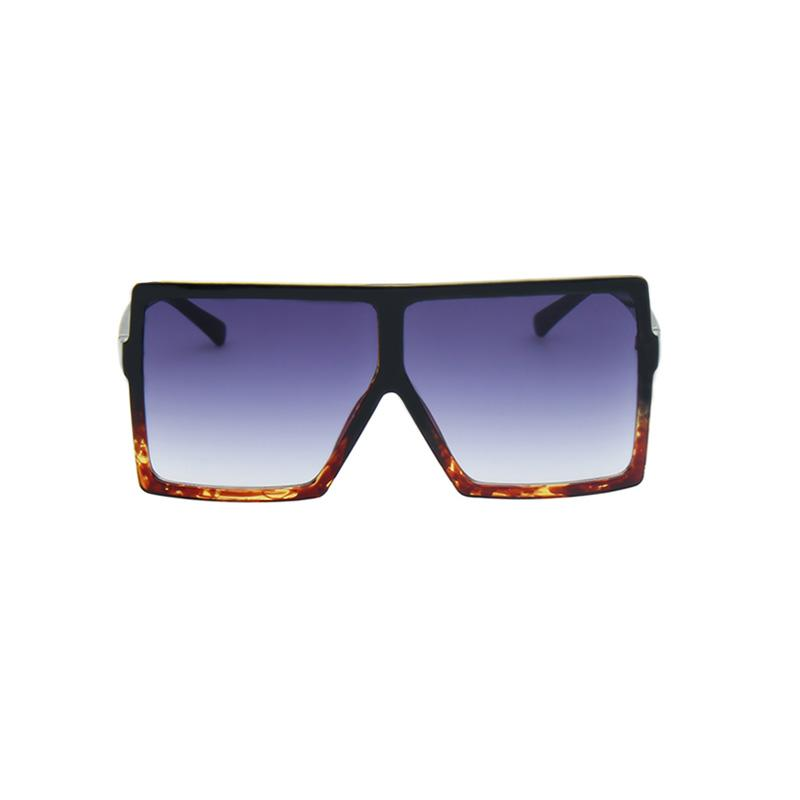 Bulky Square Sunglasses sunglasses Vinty Jewelry Steelblue