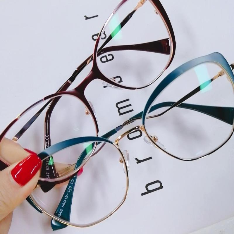 Cat Eye Glasses With Clear Lenses Vinty Jewelry