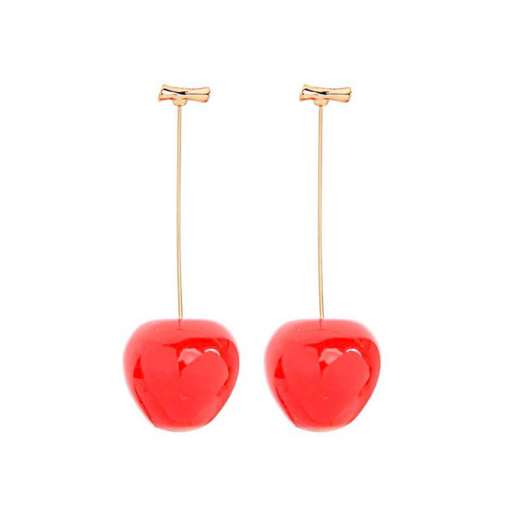 Cherry Drop Earrings earrings Vinty Jewelry