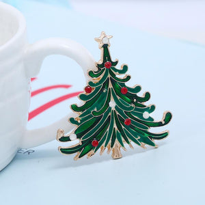 Christmas Tree Brooch brooch Vinty Jewelry