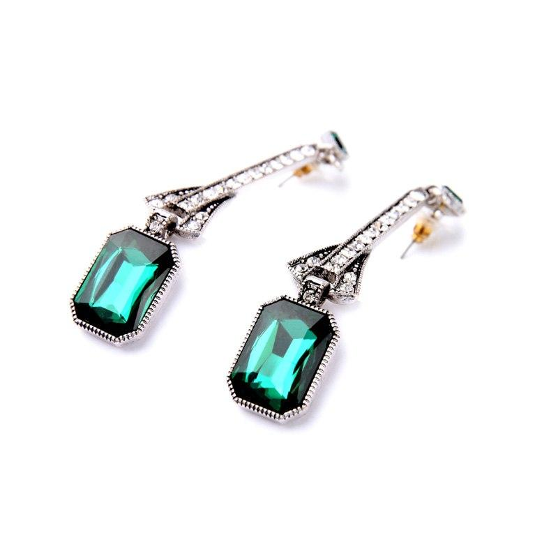 Chrysler Dangle Earrings Vinty Jewelry