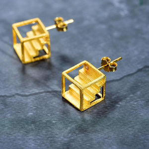 Cubic Staircase Earrings earrings Vinty Jewelry