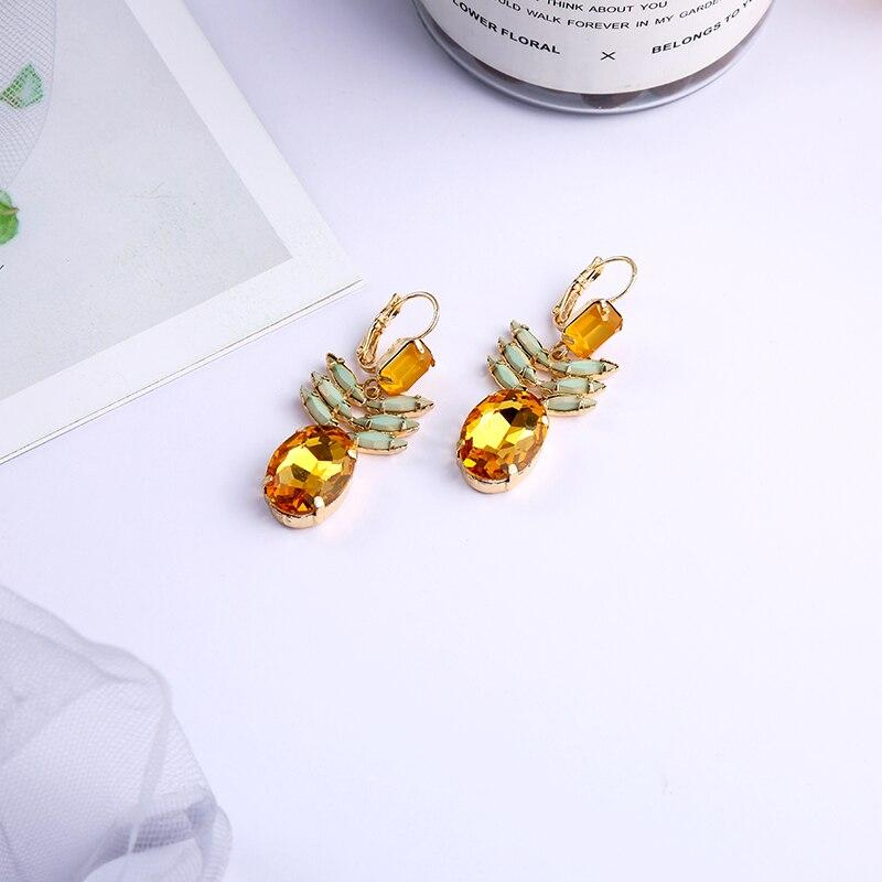 Dancing Pineapple Earrings earrings Vinty Jewelry