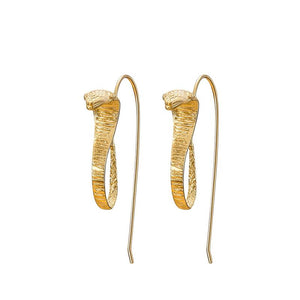 Hooded Snake Earrings earrings Vinty Jewelry
