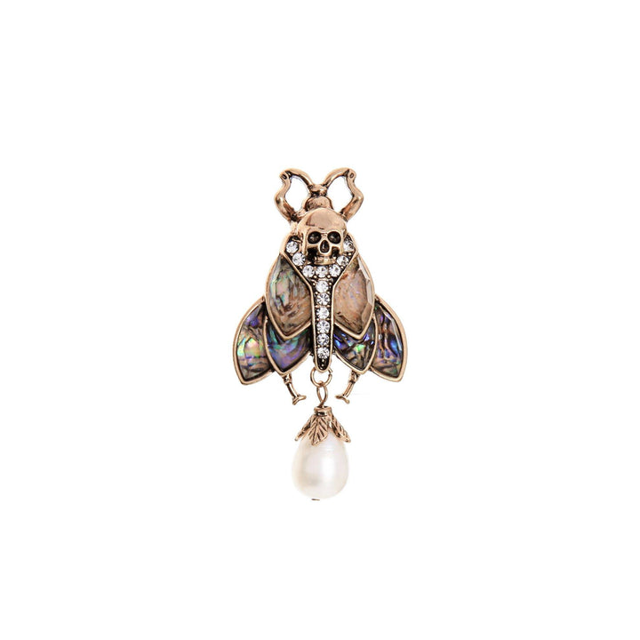 MOTHIES Abalone Moth Brooch brooch Vinty Jewelry
