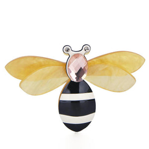 Resin Bee Brooch brooch Vinty Jewelry