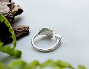 Silver Hummingbird Ring ring Vinty Jewelry