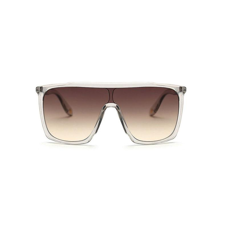 Square Large Sunglasses sunglasses Vinty Jewelry Clear