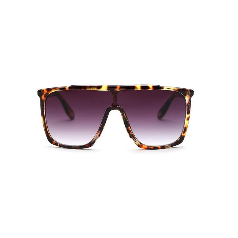 Square Large Sunglasses sunglasses Vinty Jewelry Saddlebrown